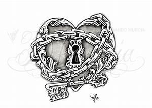 13+ Skeleton Key Tattoo Designs
