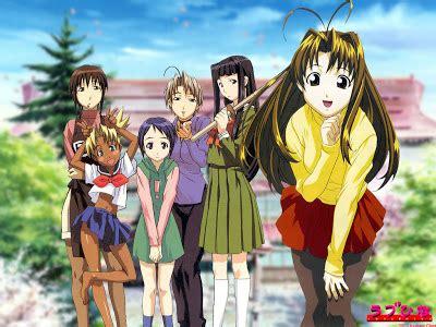 anime love hina