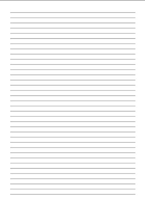 printable lined paper  print  kids  adults