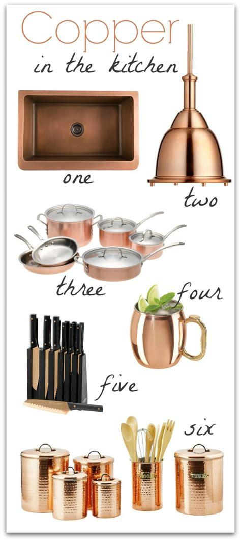 copper coloured kitchen accessories copper in the kitchen driven by decor 5785
