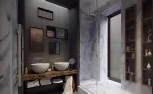 badezimmer renovieren kosten bad renovieren kosten sparen grauem marmor wände schöne badezimmer mit doppel waschbecken und