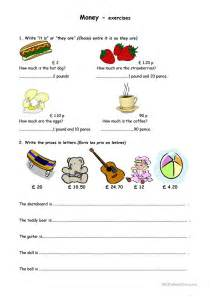 How Much Is by How Much Is It Worksheet Free Esl Printable Worksheets