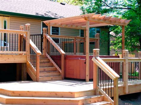 best 25 deck with pergola ideas on wooden