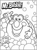 Coloring Pages Bubble Fun Bath Mr Colouring Printable 3d Quiver Bubbles Toddlers Sheets Pig Preschool Worksheets Adult Adults 2nd App sketch template