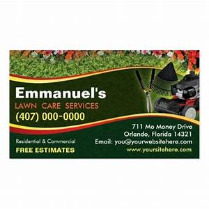 10 images about lawn care business cards on pinterest for Lawn service business card template