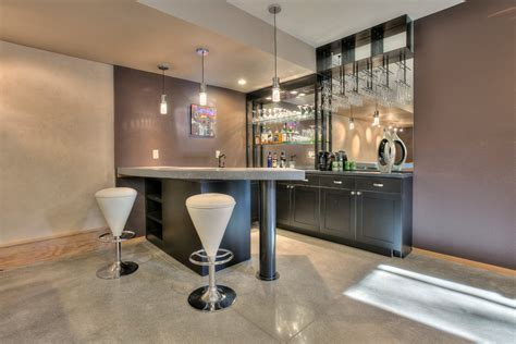 stupendous modern home bar designs
