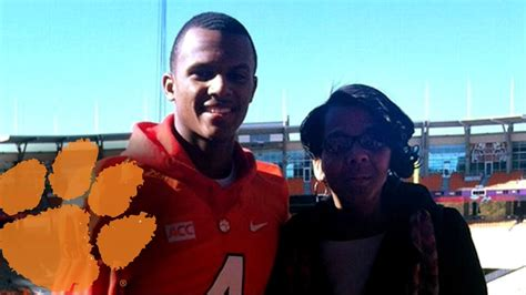 clemson footballs deshaun watson draws inspiration