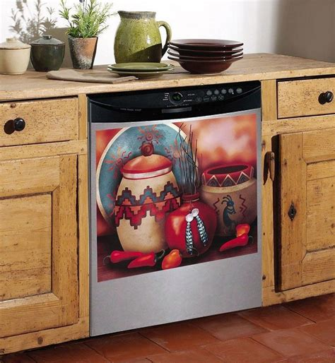 the kitchen collection inc southwest style dishwasher magnet cover on popscreen