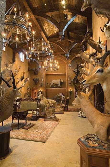 dead animals nightime lifeless glass eyes cosy trophy rooms