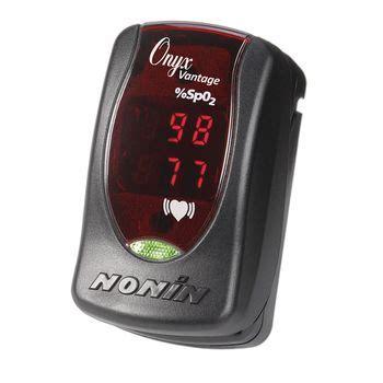 Nonin Onyx Vantage 9590 Finger Pulse Oximeter, Black