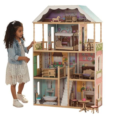 barbie size doll house girls dream play playhouse