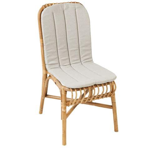 coussins pour chaises coussin pour chaise valérie chaise rotin kok