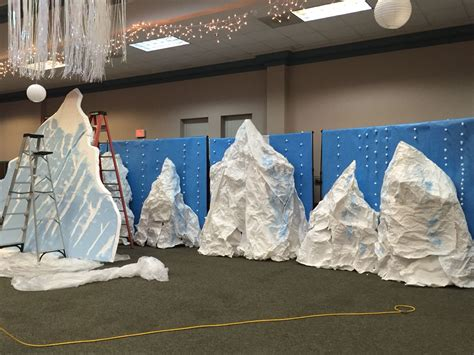 Ideas For Everest Vbs by Boxes Stacked To Make Mountains In Mount Everest Vbs