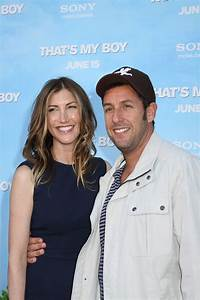 Adam Sandler and wife Jackie Sandler at the World Premiere ...