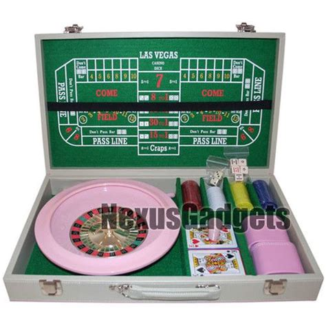 Gamis Set Pink pink casino board set blackjack craps