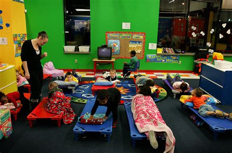 day care centers adapt to the clock demands the 637 | NIGHTCARE 1 jumbo