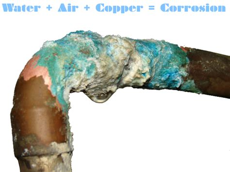 What Starts A Copper Pipe To Leak  Plumbing Emergencies