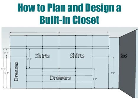 how to plan and design a built in closet sawdust 174