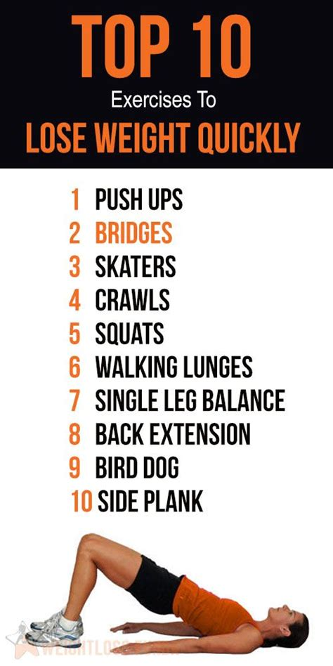 best diet lose weight quickly top 10 home exercises to lose weight quickly weight