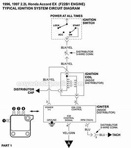 Ignition System Wiring Diagram  1996