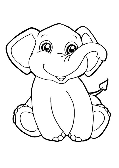 immagini di da stare e colorare 45 disegni di elefanti da colorare pianetabambini it