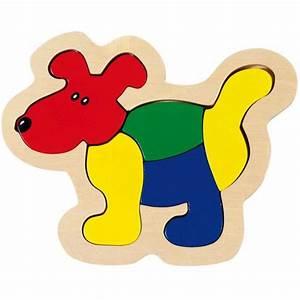 Puzzle En Bois Bébé : puzzle chien goki 5 pi ces puzzle pour b b la f e du jouet ~ Dode.kayakingforconservation.com Idées de Décoration