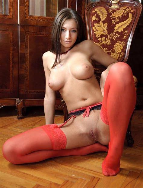 Red Stockings And Garter Belt Porn Pic Eporner