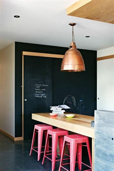 deco murale cuisine design l 39 ardoise murale un objet de déco pour votre intérieur