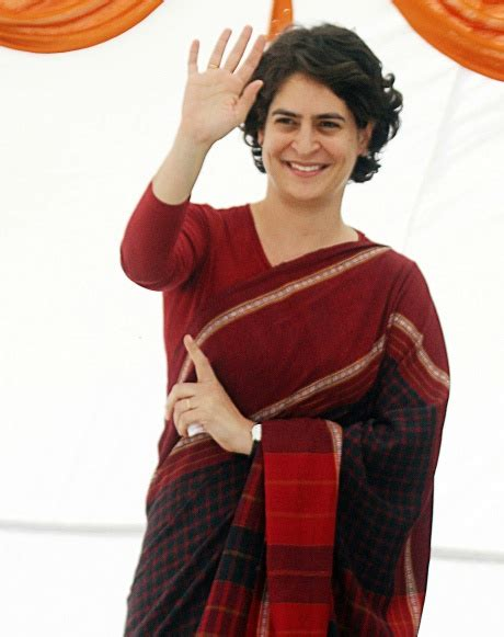 priyanka heading  active role  politics indiatimescom