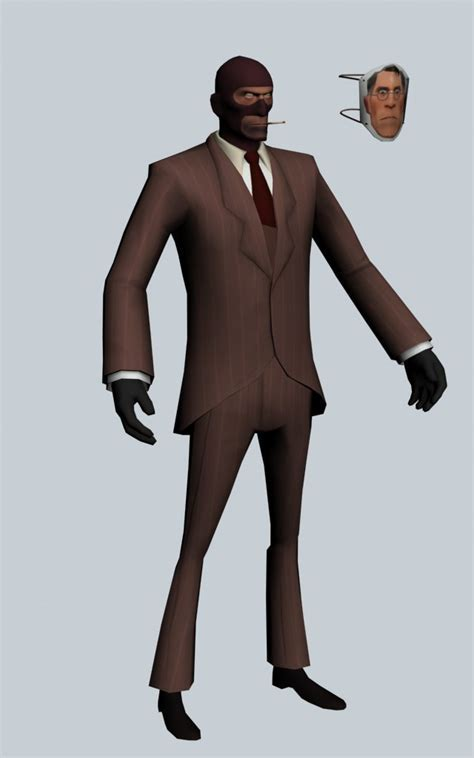 The Spy   Team Fortress character 3d model 3ds max files