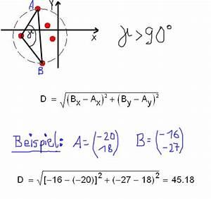 Abstand Punkte Berechnen : ermittlung von streukreisen verfahren ~ Themetempest.com Abrechnung