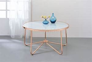 alivia coffee table 3pc set 81835 in frosted glass rose gold With gold glass coffee table set