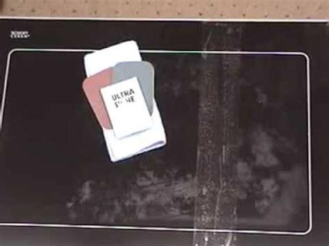 glass ceram cook top restoration kit  restore    youtube