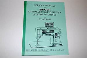 Complete  Full Edition  Service Manual On Cd For Singer