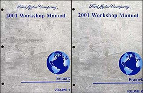 car owners manuals free downloads 2001 ford escort parental controls 2001 ford escort repair shop manual 2 volume set zx2 zx service workshop ebay