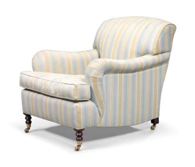 George Smith Armchair by A George Smith Easy Armchair Late 20th Century Christie S