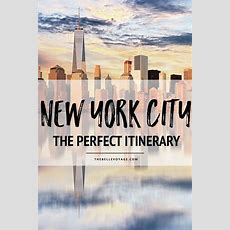 5 Days In New York The Perfect New York Itinerary For First Timers
