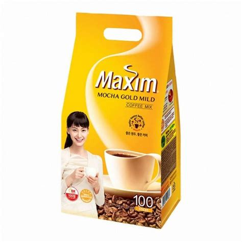 Maxim coffee korea have additional flavoring such as hazelnuts, cranberries and blueberries to add a unique touch to the taste. Korean Instant Mixed Coffee Stick Maxim Mocha Gold Mild Rich Flavor 100 Sticks #Maxim | Coffee ...