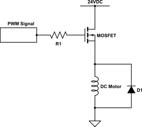 Wire Diagram 24v Driver by Is This Circuit Correct For A Dc Motor Driver