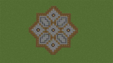Minecraft Circle Floor Designs by A Floor Design For A Plaza Rebrn