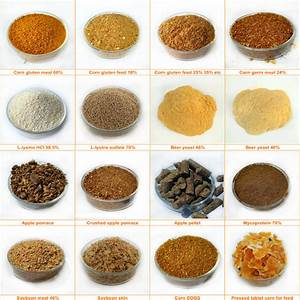 Bulk Animal Feed Corn Gluten Meal Chicken Feed Bag 50kg ...