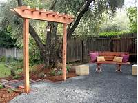 building an arbor How To Build An Arbor | Casual Cottage
