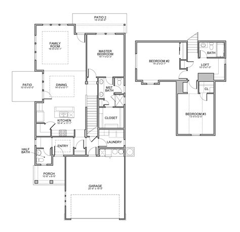 Brighton Homes Tuscany Floor Plan by Fairfax Tuscany
