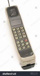 Early 1990 U0026 39 S Style Mobile Phone  One Of The First Models