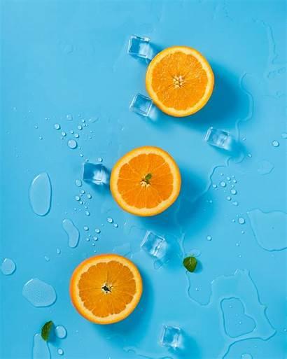 Orange Wallpapers Unsplash Oranges Colors Sliced Hq