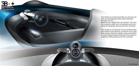 Bugatti Type Zero Concept  Single Seater Futuristic