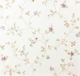 design tapeten landhaus tapete fleuri pastel a s 93770 1 937701 blumenranke violett grün weiß