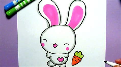 ein niedliches kaninchen malen youtube