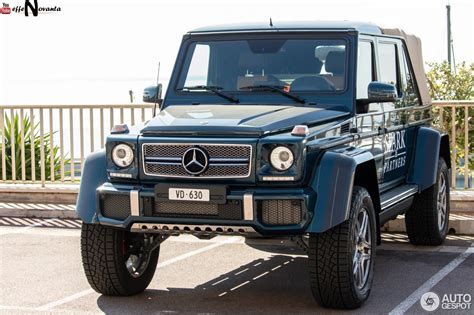 Our car experts choose every product we feature. Mercedes-Maybach G 650 Landaulet W463 - 26 août 2018 - Autogespot