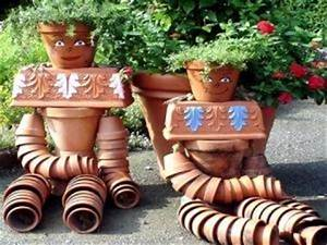 Creation Avec Des Pots De Fleurs : jardin ~ Melissatoandfro.com Idées de Décoration